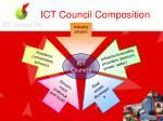 ict council composition