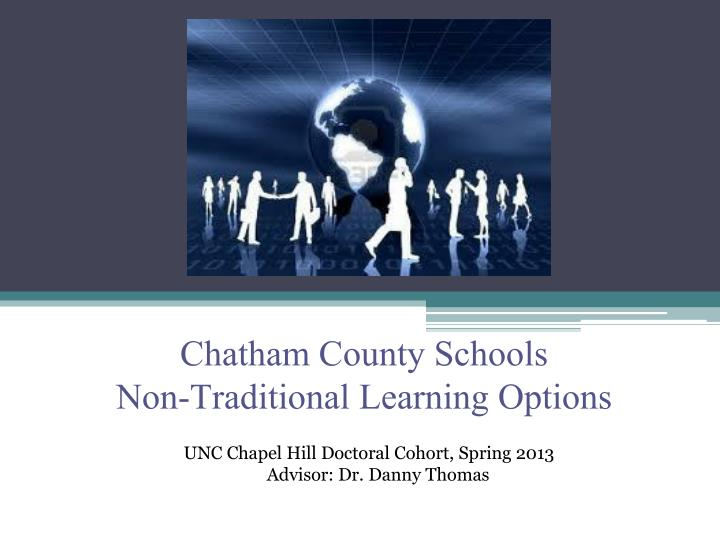chatham county schools non traditional learning options n.