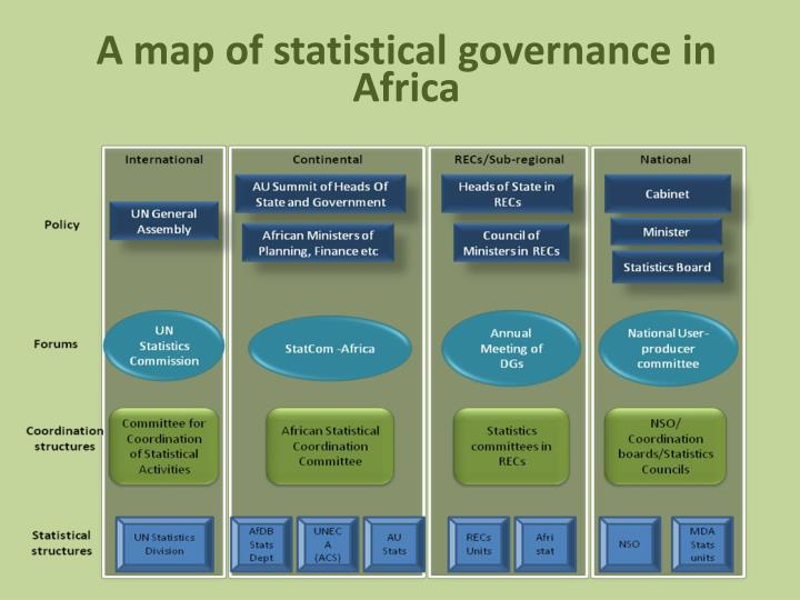 A map of statistical governance in Africa