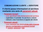 comunicazione cliente servitore