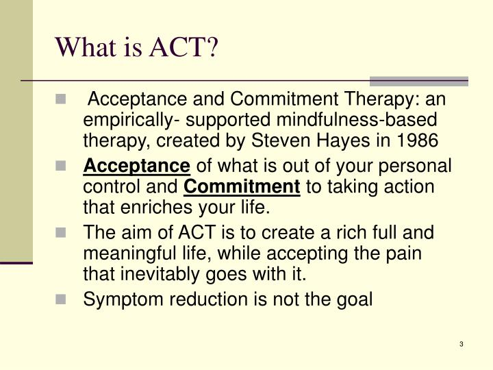 What is act
