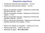 requisitos espec ficos