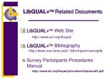 libqual related documents