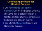 connecting the dots for student success2