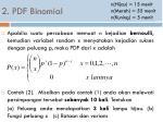 2 pdf binomial