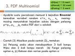 3 pdf multinomial
