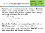 6 pdf hipergeometriks