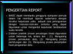pengertian report