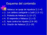 esquema del contenido7