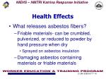 health effects1