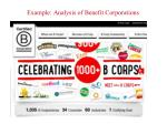 example analysis of benefit corporations