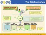 the ggus workflow