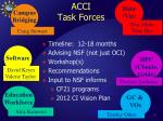 acci task forces