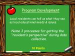 program development12