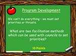 program development18