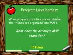 program development22