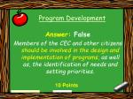 program development41