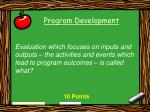 program development46