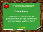 program development48