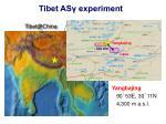 tibet as experiment