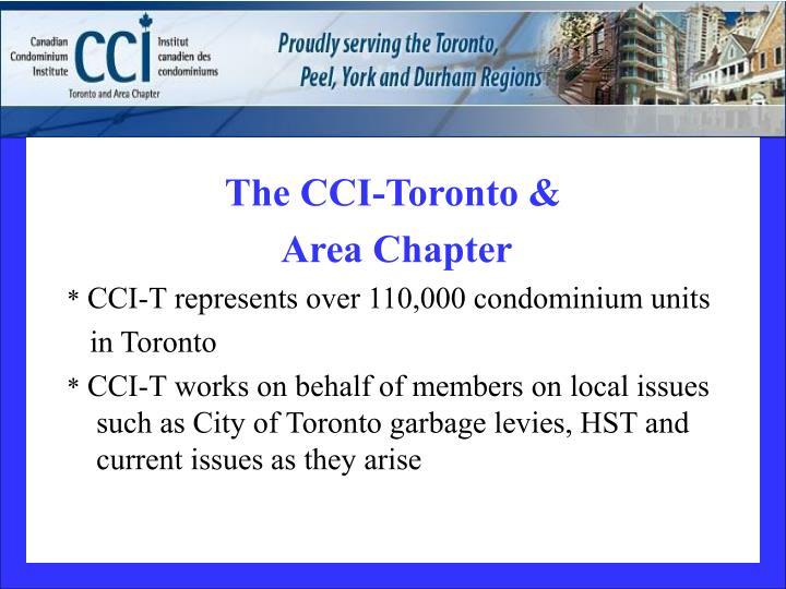 The CCI-Toronto &