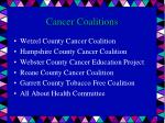 cancer coalitions