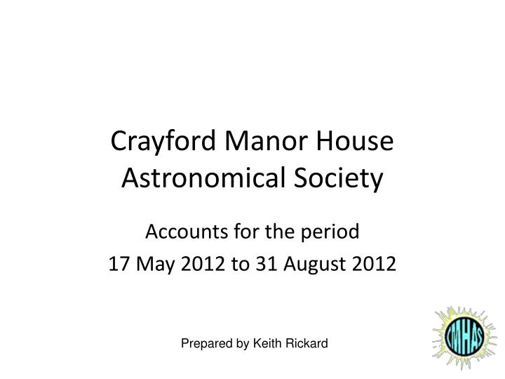 crayford manor house astronomical society n.