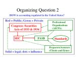 organizing question 2