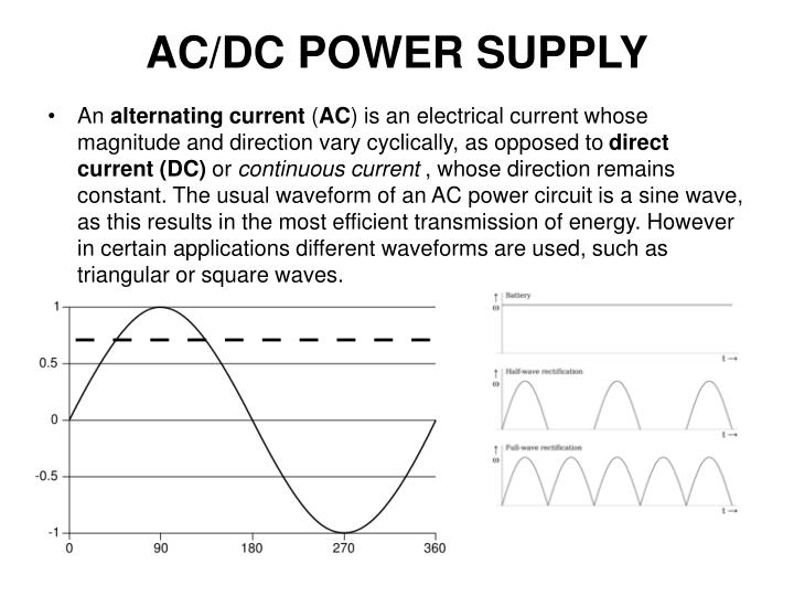 ac dc power supply n.