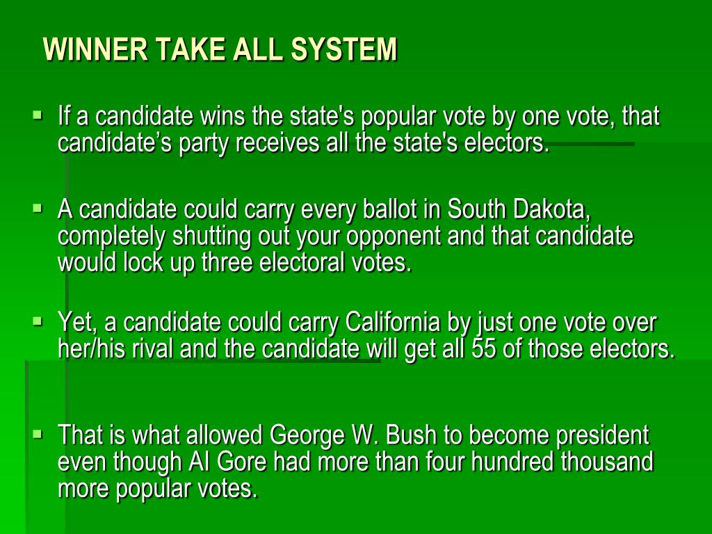 PPT - THE ELECTORAL COLLEGE PowerPoint Presentation - ID:3924525