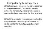 computer system expenses