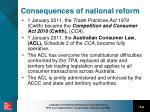 consequences of national reform