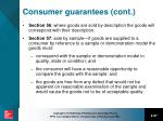 consumer guarantees cont1
