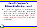 some reflections on internationalisation contd1