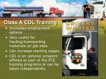 class a cdl training1