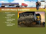 nccer heavy equipment