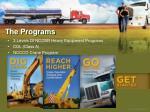 the programs