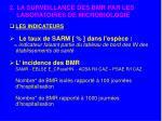 2 la surveillance des bmr par les laboratoires de microbiologie3