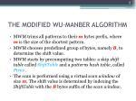 the modified wu manber algorithm