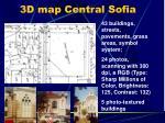 3d map central sofia