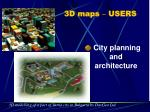 3d maps users