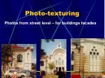 photo texturing