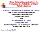 using rational approximations for evaluating the reliability of highly reliable systems