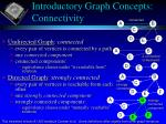 introductory graph concepts connectivity
