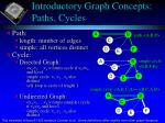 introductory graph concepts paths cycles