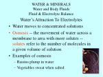 water minerals water and body fluids fluid electrolyte balance3