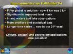 improvements over pathfinder v4