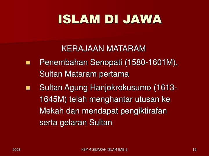ISLAM DI JAWA