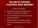 islam di patani filipina dan brunei3