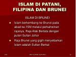 islam di patani filipina dan brunei4